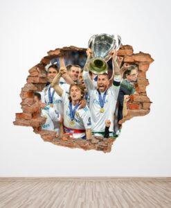 Agujero 3D Champions Real Madrid