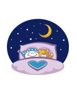 Vinilo Oso Dormir