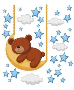 Kit Oso Luna y Estrellas