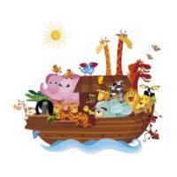 Vinilo Infantil Arca de Noé