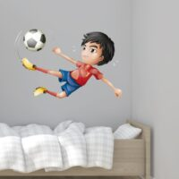 Vinilo Infantil Futbolista