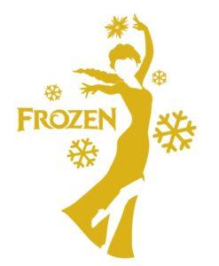 Vinilo Infantil Frozen