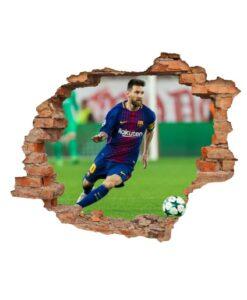 Agujero 3D Messi