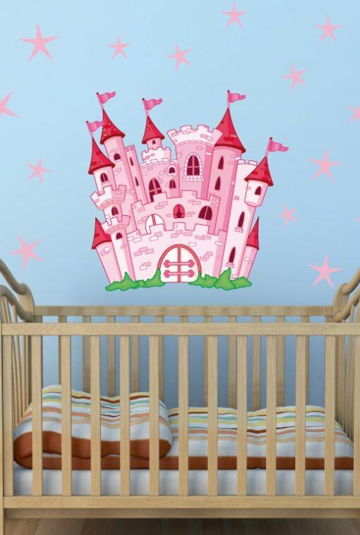 Vinilo Castillo Princesas