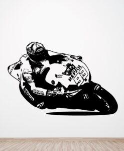 Vinilo Moto Marquez